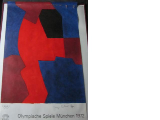 A collection of Munich 1972 Olympic posters
