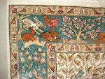 A Kayseri silk rug, West Anatolia, 234cm x 152cm