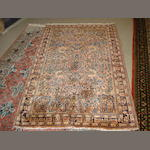 A Sarouk rug, West Persia, 155cm x 101cm together with another rug (2)