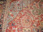 A Heriz carpet, North West Persia, 385cm x 286cm