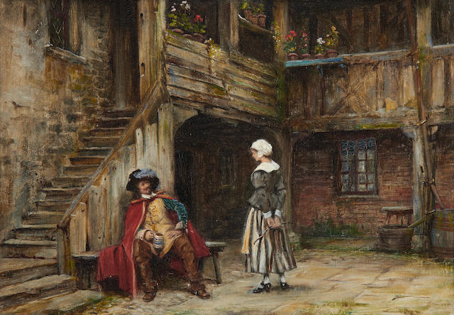 Frank Moss Bennett (British, 1874-1952) The Swashbuckler