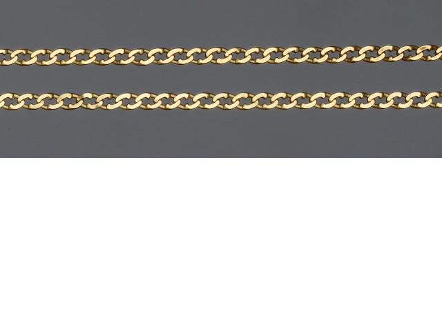 A fancy-link chain