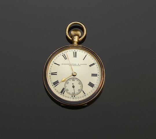 Rolex: A lady's 9ct gold watch head  (6)