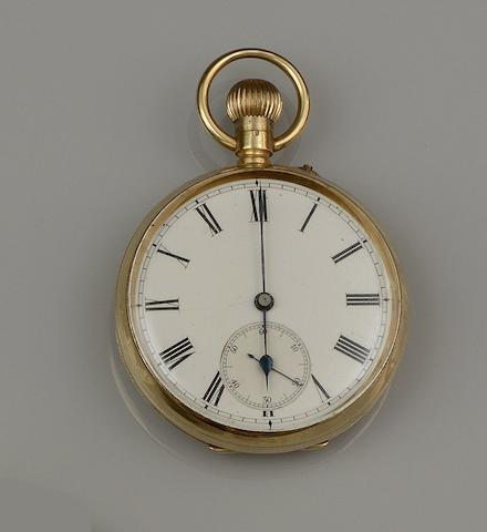 A pocket watch and a fob watch