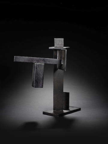 Brian Wall (British, 1931) Grey Sculpture 58 cm. (22 3/4 in.) high Unique