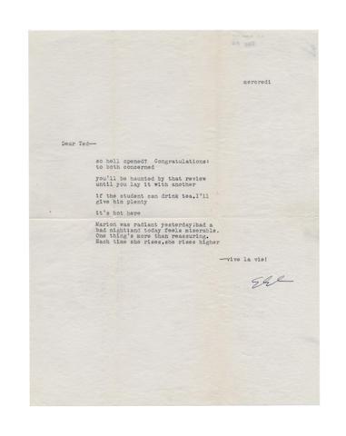 CUMMINGS, EDWARD ESTLIN (1894-1962, American poet)
