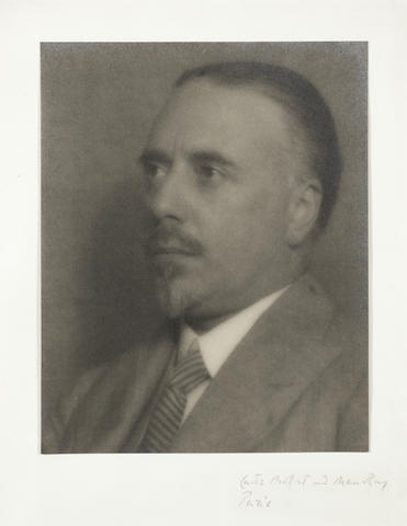 BEECHAM, THOMAS (1879-1951, conductor) PORTRAIT BY MAN RAY  AND CURTIS MOFFAT, [1910s]
