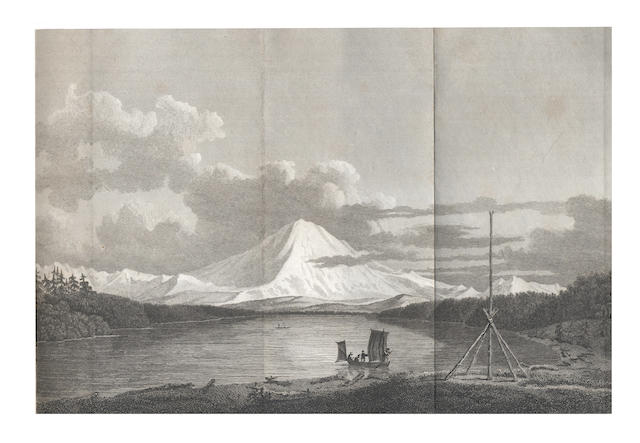 VANCOUVER (GEORGE) A Voyage of Discovery to the North Pacific Ocean, and Round the World,... new edition, 6 vol., 1801