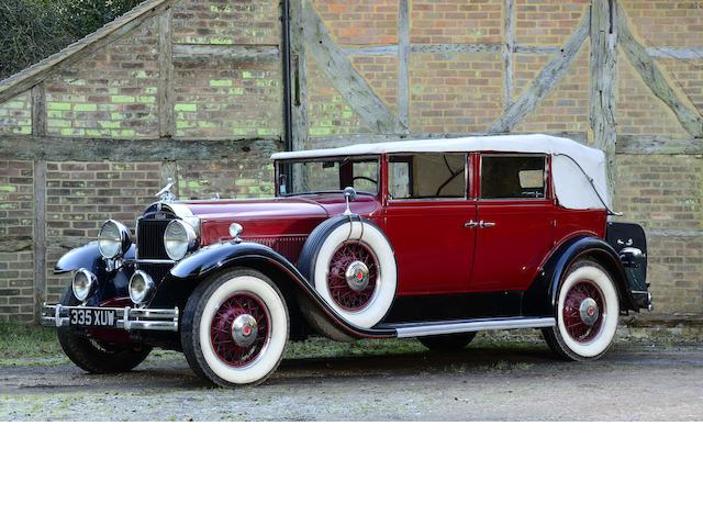 1931  Packard  Standard Eight 833 Five Passenger Convertible Sedan   Chassis no. 483111  Engine no. 327324