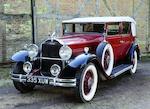 1931  Packard  Standard Eight 833 Five Passenger Convertible Sedan   Chassis no. 483111  Engine no. 327324