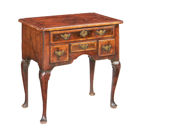 A late George I/early George II walnut lowboy