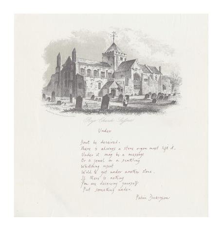 DICKINSON, PATRIC (1914-1994)