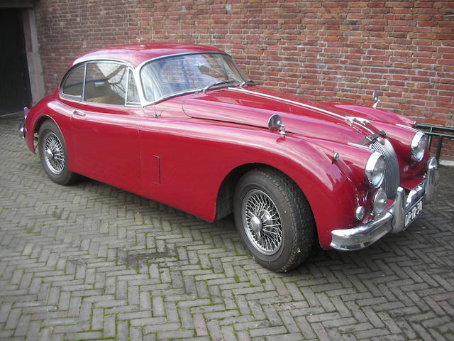 1957  Jaguar  XK150 3.4-Litre Coupe  Chassis no. S834942DN Engine no. V2368-8