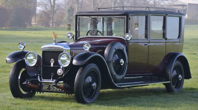 1923 Daimler 57hp 9.4 Litre Hooper limousine
