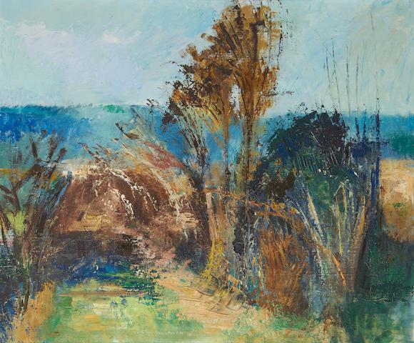 Barbara Robinson (British, born 1928) Landscape
