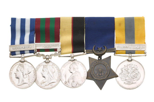 Five to Major J.Batersby, Royal Army Medical Corps,