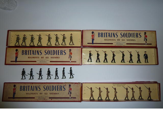 Britains set 1542, New Zealand Infantry 46