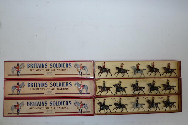 Britains British Cavalry in full dress 15