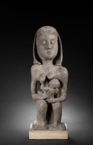 Frederick Edward McWilliam (British, 1909-1992) Mother and Child 45.6 cm. (18 in.) high (excluding base)  unique
