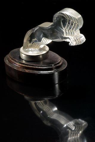 René Lalique 'Cinq Chevaux'