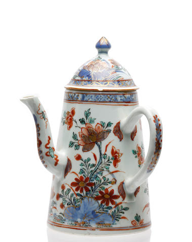 An 18th century Chinese chocolate pot