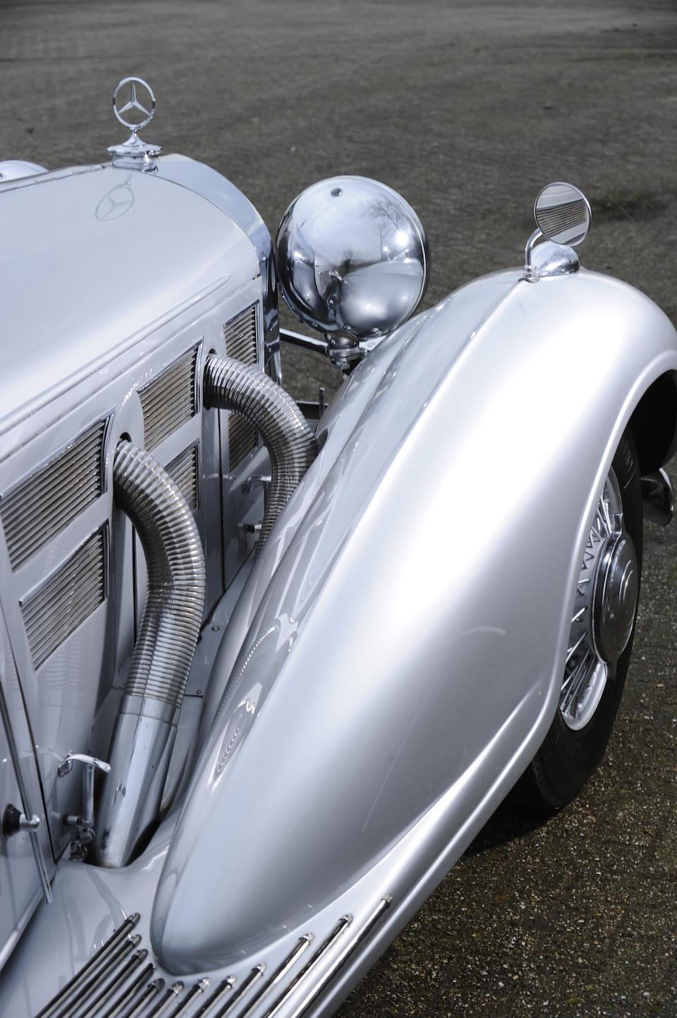1938 Mercedes-Benz 540K cabriolet  Chassis no. 169333