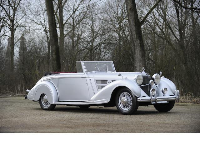 1938 Mercedes-Benz 540K Vanden Plas