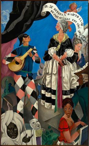 Ray BRET KOCH(1902-1996) 'Carnaval'