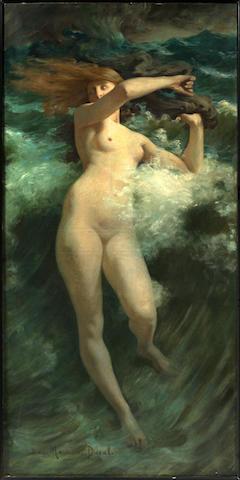 """Jean Maurice Duval (born 1871) """"La Vague"""""""