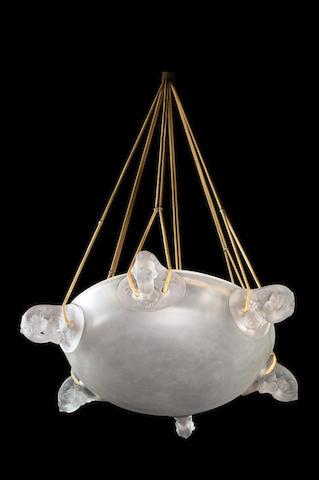 René Lalique (1860-1945) 'Églantines'