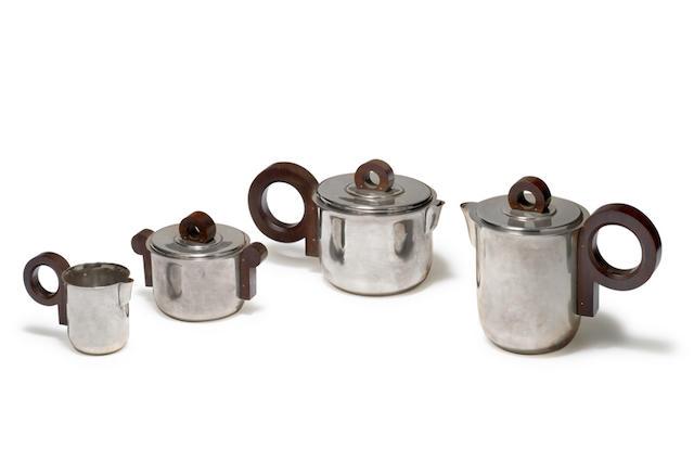Jean-Emile Puiforcat (1897-1945) Service à thé et à café, circa 1935