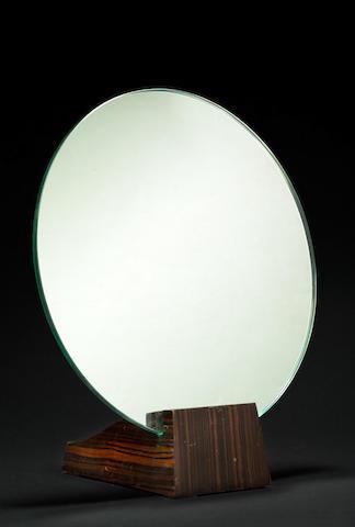 Emile-Jacques Ruhlmann (1879-1933) Miroir rond