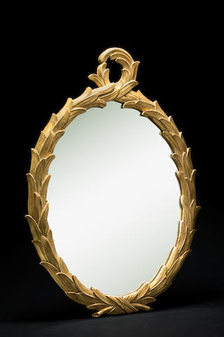 TV FCS 1930 Miroir en bois doré