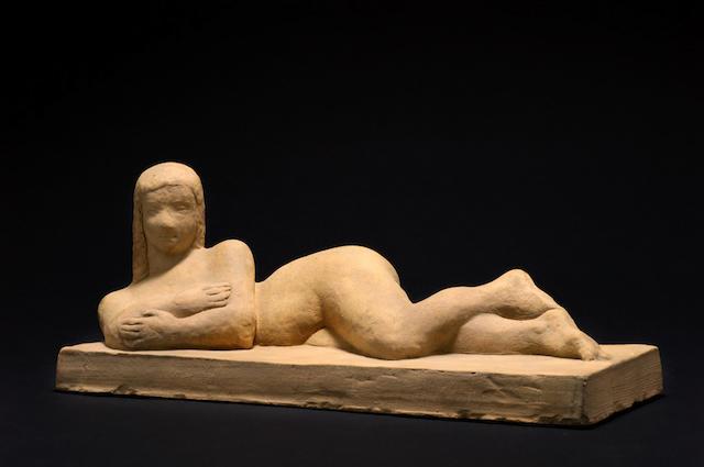 Joseph Csaky (1888-1971) 'Nue Allongée', 1943