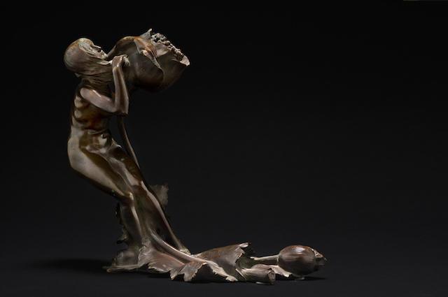 Maurice Bouval (1863–1920) 'Femme au Pavot' circa 1900