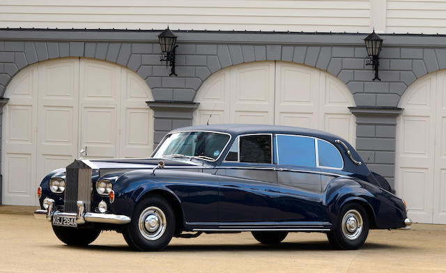 1963 Rolls-Royce Phantom V limousine  Chassis no. 5LVA85 Engine no. A42PV