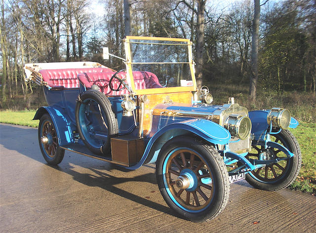1910  Talbot  25hp Model 6AS Six-cylinder 'Roi-de-Belges' Tourer  Chassis no. 4018 Engine no. 15