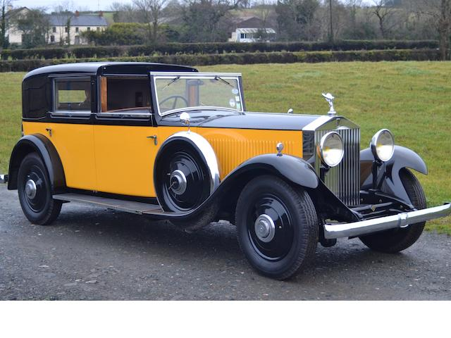 1932  Rolls-Royce  Phantom II 40/50hp Coupe de Ville  Chassis no. 66JS  Engine no. BJ85