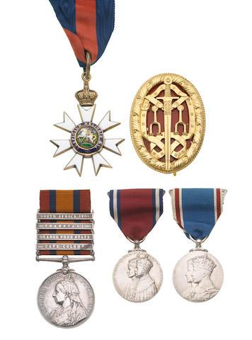 A. Kt. and C.M.G. group of five to Sir.A.E.Horn,