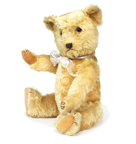 Blonde Chiltern Teddy Bear, 1950s