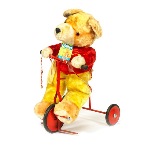 Chiltern Teddy Bear on trike