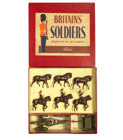 Britains set 2077, King's Troop, Royal Horse Artillery 8