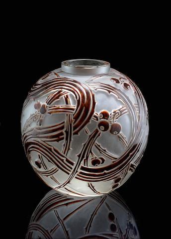 René Lalique (1860-1945) 'Baies', modèle créé en 1924