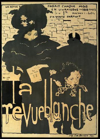 Pierre Bonnard (1867-1947) 'La Revue Blanche' 1898/1899