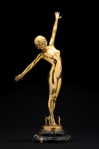 Fernand Ouillon Carerre 'Danseuse aux Lances', circa 1919