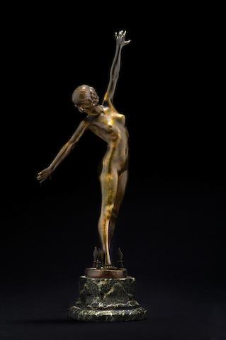 Fernand Ouillon-Carrère 'Danseuse aux Lances'