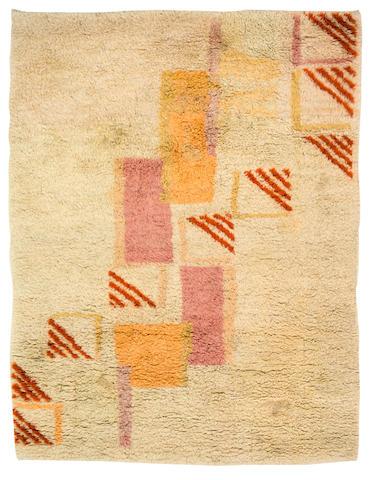 Eric BAGGE (1890-1978) attribué à Tapis, circa 1930