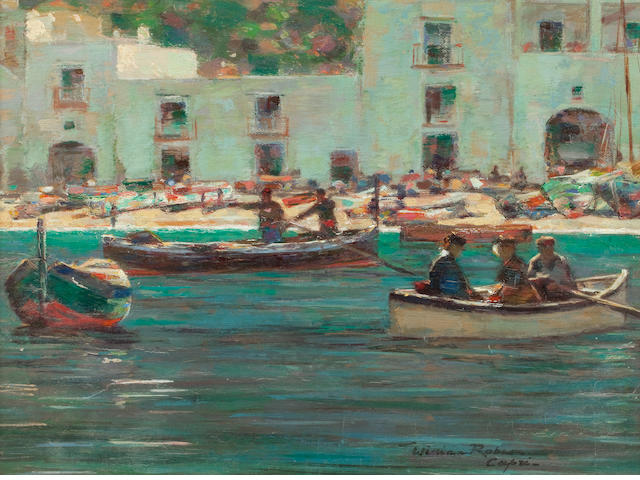 William Robson (Scottish, 1868-1952) Capri