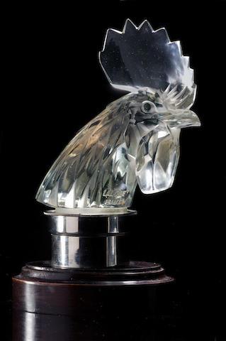 René Lalique (1860-1945) 'Tête de Coq'