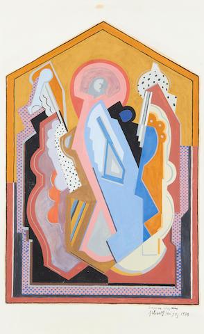Albert Gleizes (French, 1881-1953) Composition à trois thémes